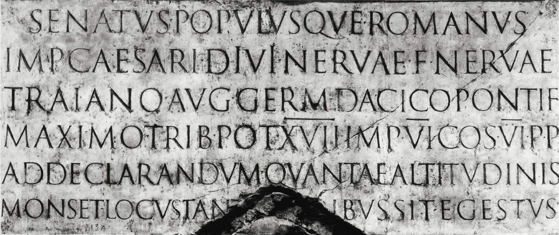 Liu Group Logo 的字體選用靈感來自於古羅馬時期的 Trajan 石碑文字